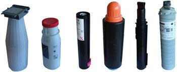 toner bottles tube and tanks